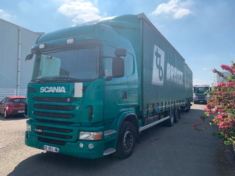 SCANIA G 420 6X2 TAUTLINER