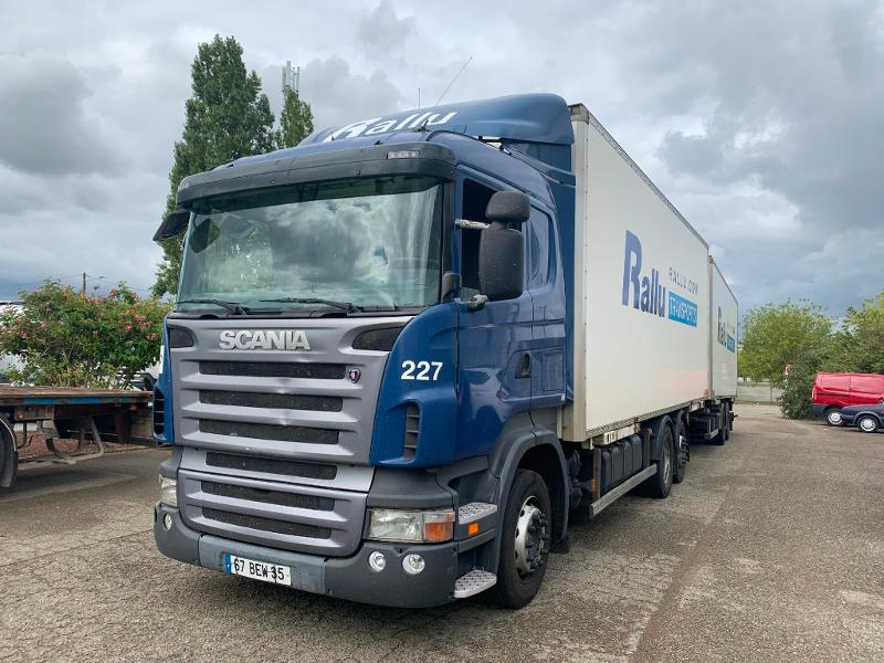 SCANIA R 420 LB Highline Euro 4