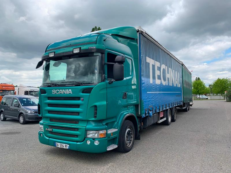 SCANIA R 420 LB 6x2 Highline Euro 4